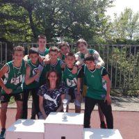 Отборът по лека атлетика на 54 СУ спечели първо място на градско