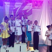 Два златни медала при децата – международен турнир по спортни танци Sofia Open Dance festival 2019
